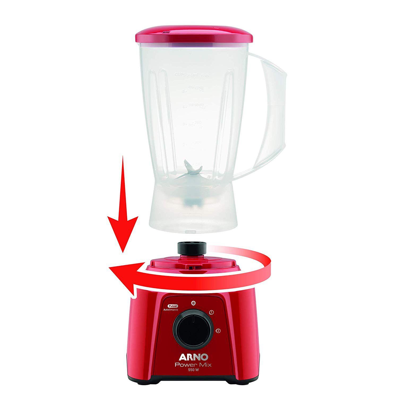 Liquidificador Arno Power Mix LQ11 550W 2L 2 Velocidades