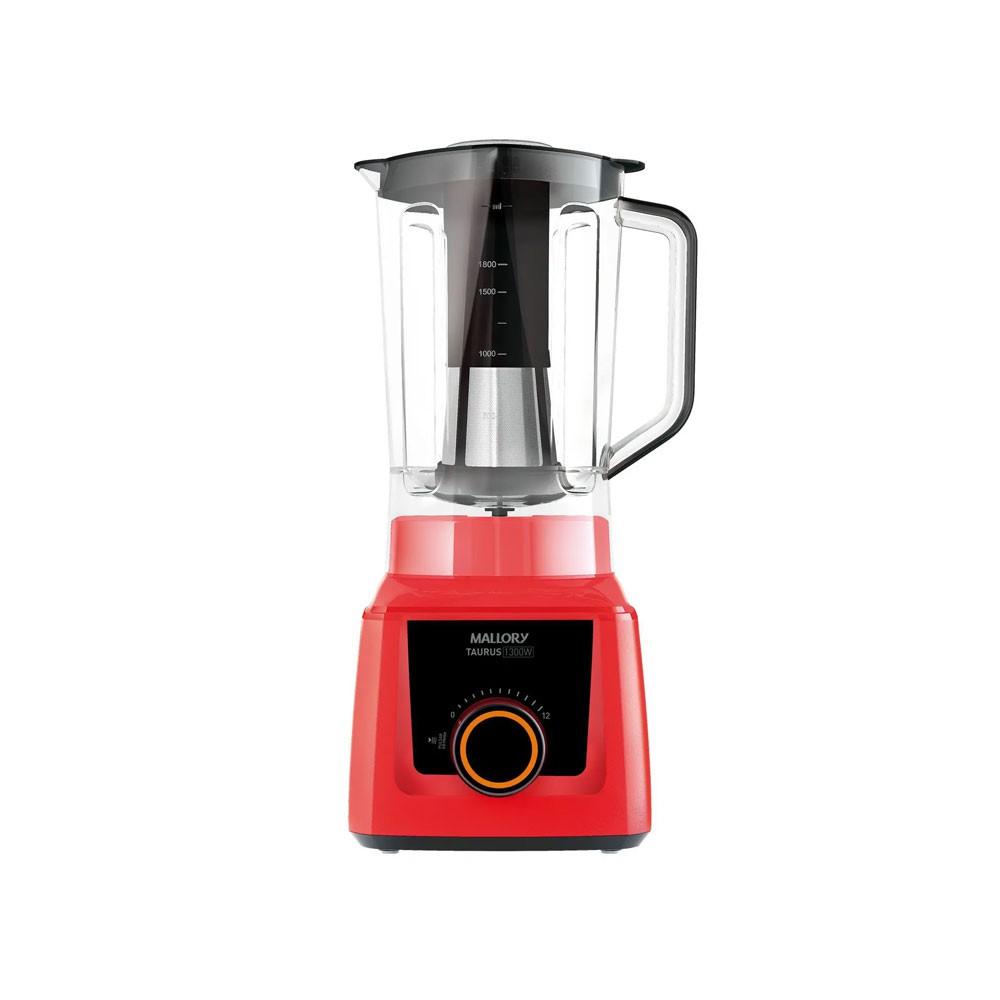 Liquidificador Mallory Taurus Vermelho 1300W 220V