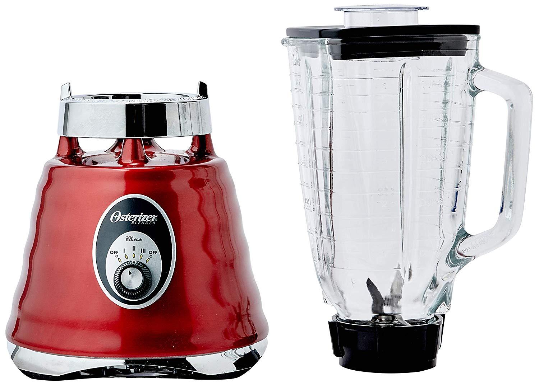 Liquidificador Osterizer Clássico Oster - Vermelho