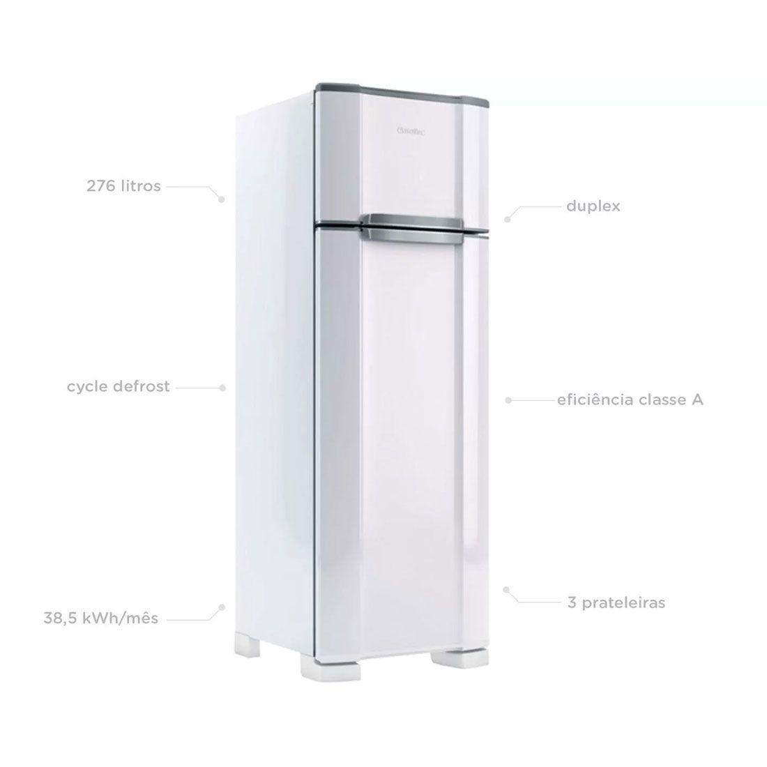 Refrigerador Esmaltec RCD38 Duplex Branco