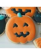 Cortador de Biscoito Abóbora (Tema Halloween)
