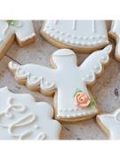 Cortador De Biscoito Anjo - MINI (Tema Batizado ou Chá de Bebê)