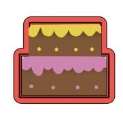 Cortador De Biscoito Bolo De Aniversario mini
