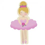 Cortador de Biscoito Boneca Bailarina 02 (Menina/ Bonequinha de vestido)