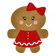 Cortador de Biscoito Boneco de Gengibre - Mãe (Tema Família Ginger)