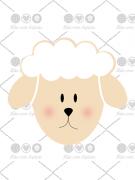 Cortador de Biscoito Carneiro/ Ovelha/ Cordeiro