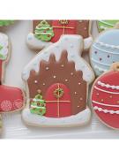 Cortador de Biscoito Casa (Casinha Gingerbread) (Tema de Natal)
