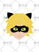 Cortador de Biscoito Cat Noir - Menino Gato (Tema Miraculous)