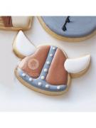 Cortador de Biscoito Chapéu Viking