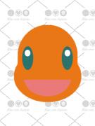 Cortador De Biscoito Charmander (Rosto) (Tema Pokémon)