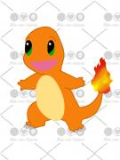 Cortador De Biscoito Charmander (Tema Pokémon)