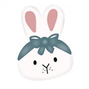 Cortador de Biscoito coelha Bella (rosto)