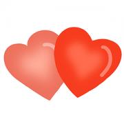 Cortador de Biscoito Coração Duplo