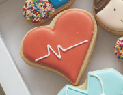 Cortador de Biscoito Coração (Tema Hospital)
