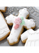 Cortador De Biscoito Cruz - MINI (Tema Páscoa ou Chá de Bebê/ Batizado)