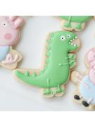 Cortador de Biscoito Dinossauro George Pig (Tema Peppa Pig)