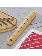 Cortador de Biscoito Flauta (Tema Três Porquinhos)