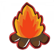 Cortador de Biscoito fogueira- festa junina