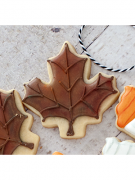 Cortador De Biscoito Folha de Outono