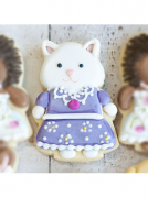 Cortador de Biscoito Gato Persa ou Raposa (Tema Sylvanian Families)