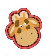 Cortador de Biscoito Girafa Rosto (Girafinha)