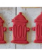 Cortador de Biscoito Hidrante (Tema Bombeiro)