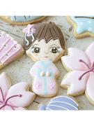 Cortador De Biscoito Kokeshi (Menina/ Boneca Japonesa ou Gueixa)