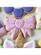 Cortador De Biscoito Laço de Fita (Tema Princesa/ Bailarina ou Unicórnio)