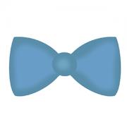 Cortador de Biscoito Laço/ Gravata Borboleta