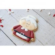 Cortador de Biscoito Mamãe Noel - Corpo (Tema Natal)
