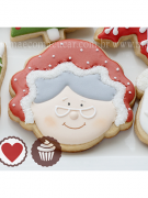 Cortador de Biscoito Mamãe Noel (Tema Natal)