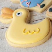 Cortador De Biscoito Pato da peppa pig