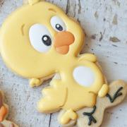 Cortador de Biscoito pintinho amarelinho