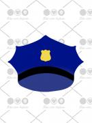 Cortador de Biscoito Quepe Policial