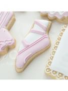 Cortador de Biscoito Sapatilha de Balé (Tema Bailarina)
