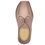 Cortador de Biscoito Sapato do Papai (Tema Dia dos Pais)
