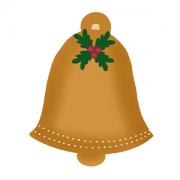 Cortador de Biscoito Sino de Natal  (Tema Natal)