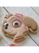 Cortador de Biscoito Skye (Rosto) (Tema Patrulha Canina)