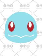 Cortador de Biscoito Squirtle (Rosto) (Tema Pokémon)