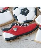 Cortador de Biscoito Tênis Chuteira (Tema Futebol)