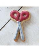 Cortador de Biscoito Tesoura (Tema Dia do Professor ou Escola)