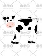 Cortador De Biscoito Vaca
