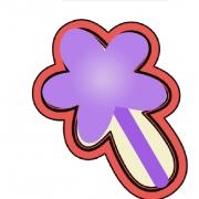 Cortador de Biscoito Varinha de Condão Mini (Tema Princesa)