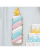 Cortador de Biscoito Vela De Aniversário