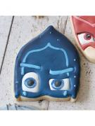 Cortador de Biscoito Vilão Ninja Noturno (Rosto) (Tema Pj Mask)
