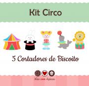 Kit de Cortadores de Biscoito Tema Circo