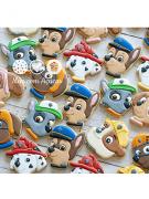 Kit de Cortadores de Biscoito Tema Patrulha Canina