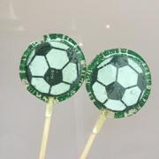 Pirulito de Açúcar Tema Futebol