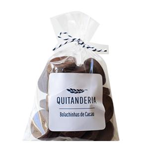 Bolachinhas de Cacau Quitanderia 100 g