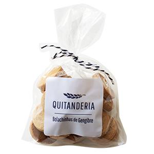 Bolachinhas de Gengibre Quitanderia 100 g